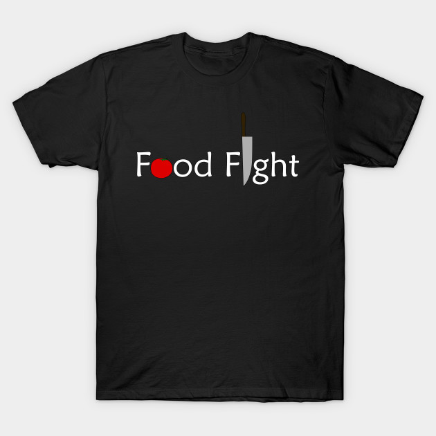 Food Fight t-shirt available on TeePublic