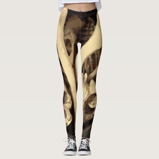 Caldron of bones. Leggings by someartworker
