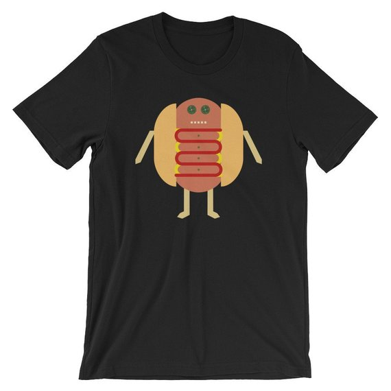 Stubby Lil Weenie. Short-Sleeve Unisex T-Shirt by someartworker