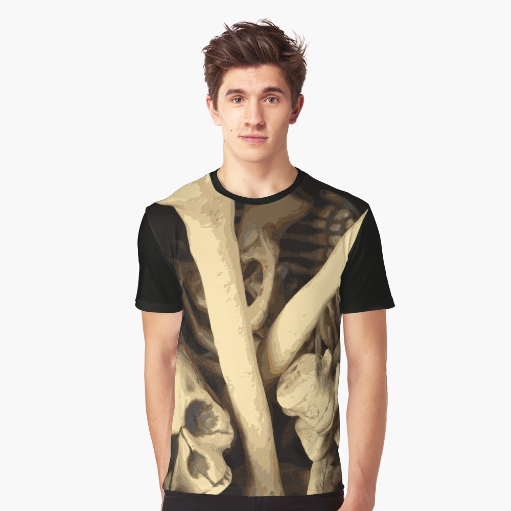 Caldron of bones. Graphic T-Shirt by someartworker on Redbubble