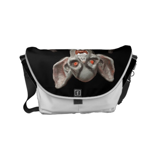 I'll be waiting. . . Small Messenger Bag by someartworker on Zazzle