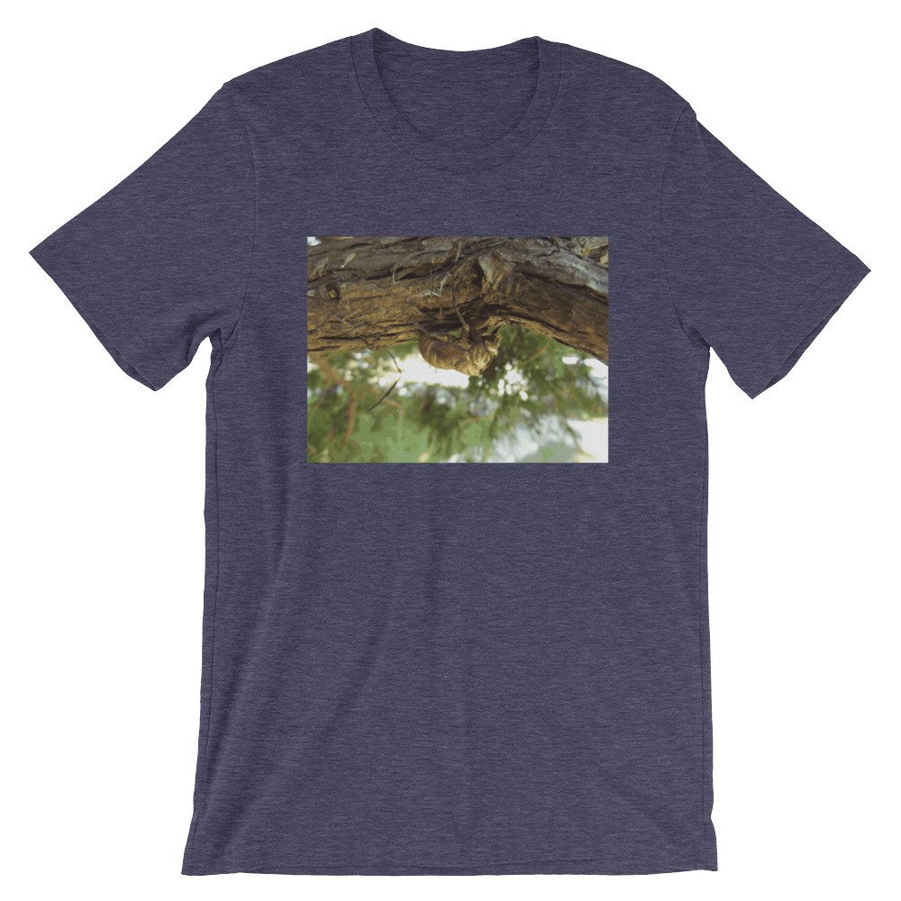 Cicada shell. It was in a hurry. Short-Sleeve Unisex T-Shirt by someartworker on Etsy