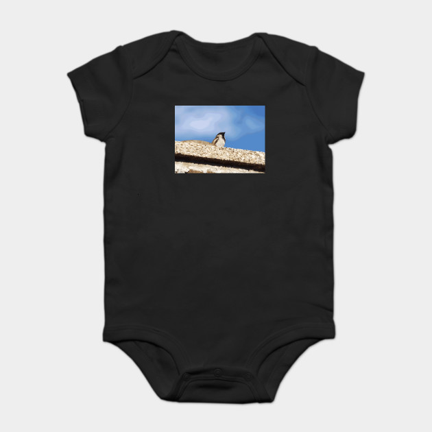 Chimney Top Dweller baby onesie by someartworker on TeePublic