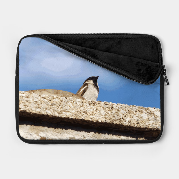 Chimney Top Dweller laptop case by someartworker on TeePublic