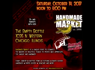 Handmade Market Chicago – October 2017 web promo