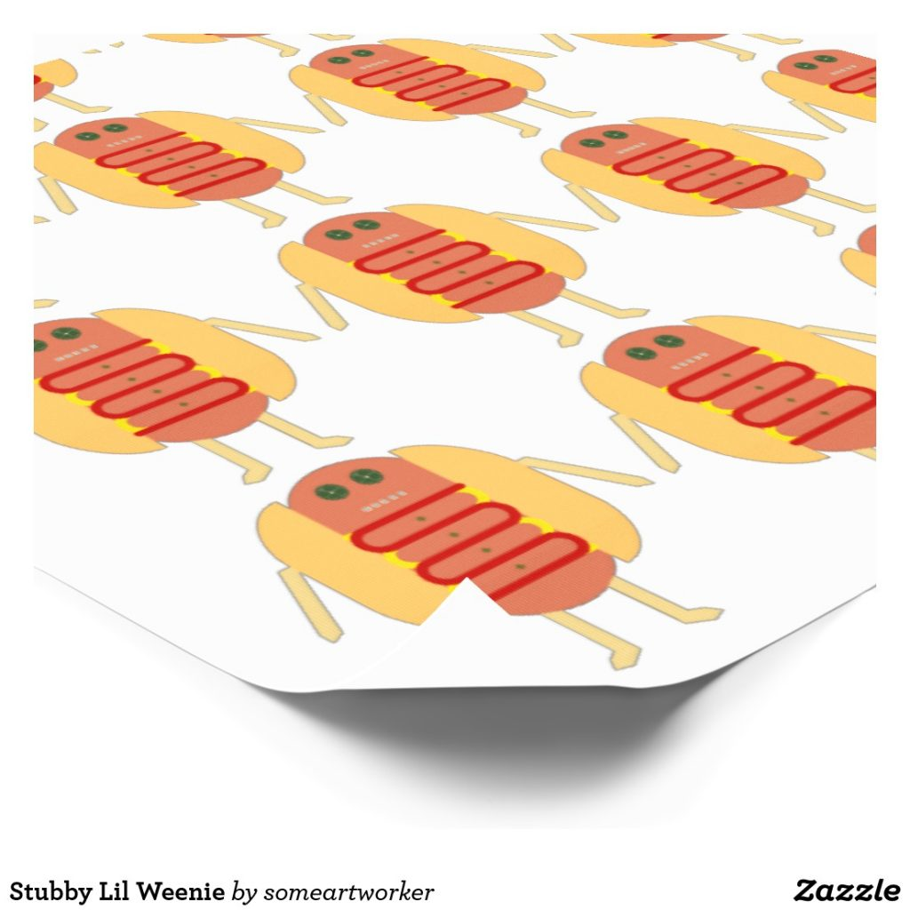 Stubby Lil Weenie Temporary Tattoos by someartworker on Zazzle