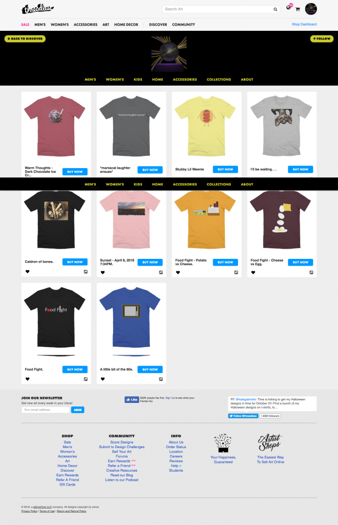 someartworker's shop - premium t-shirts sale on Threadless