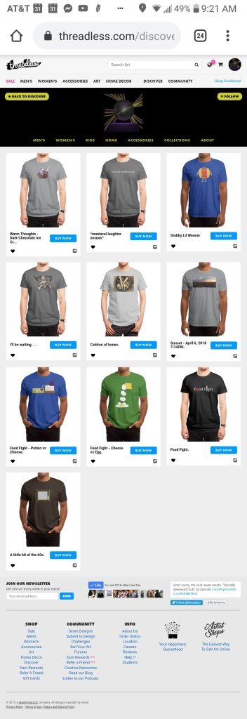 someartworker's shop – t-shirts sale on Threadless