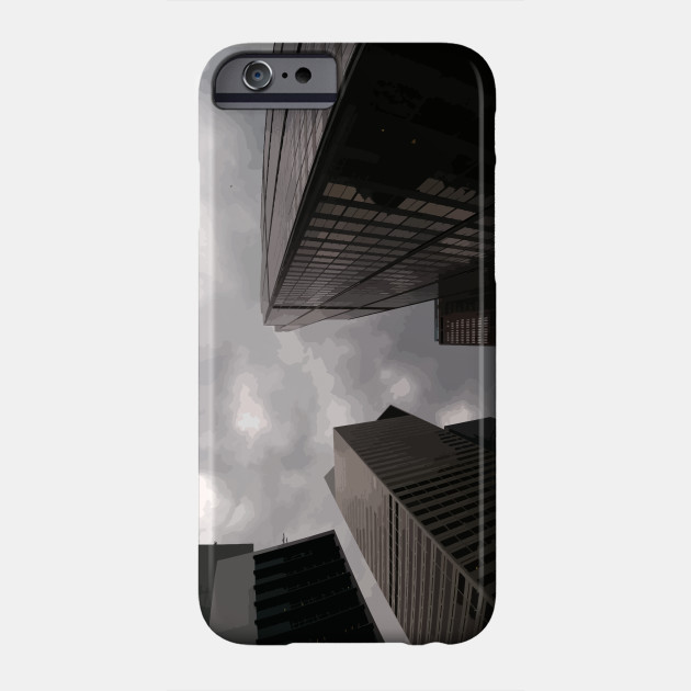 Tower in the city phone case by someartworker on Teepublic