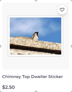 Chimney Top Dweller sticker on Redbubble by someartworker