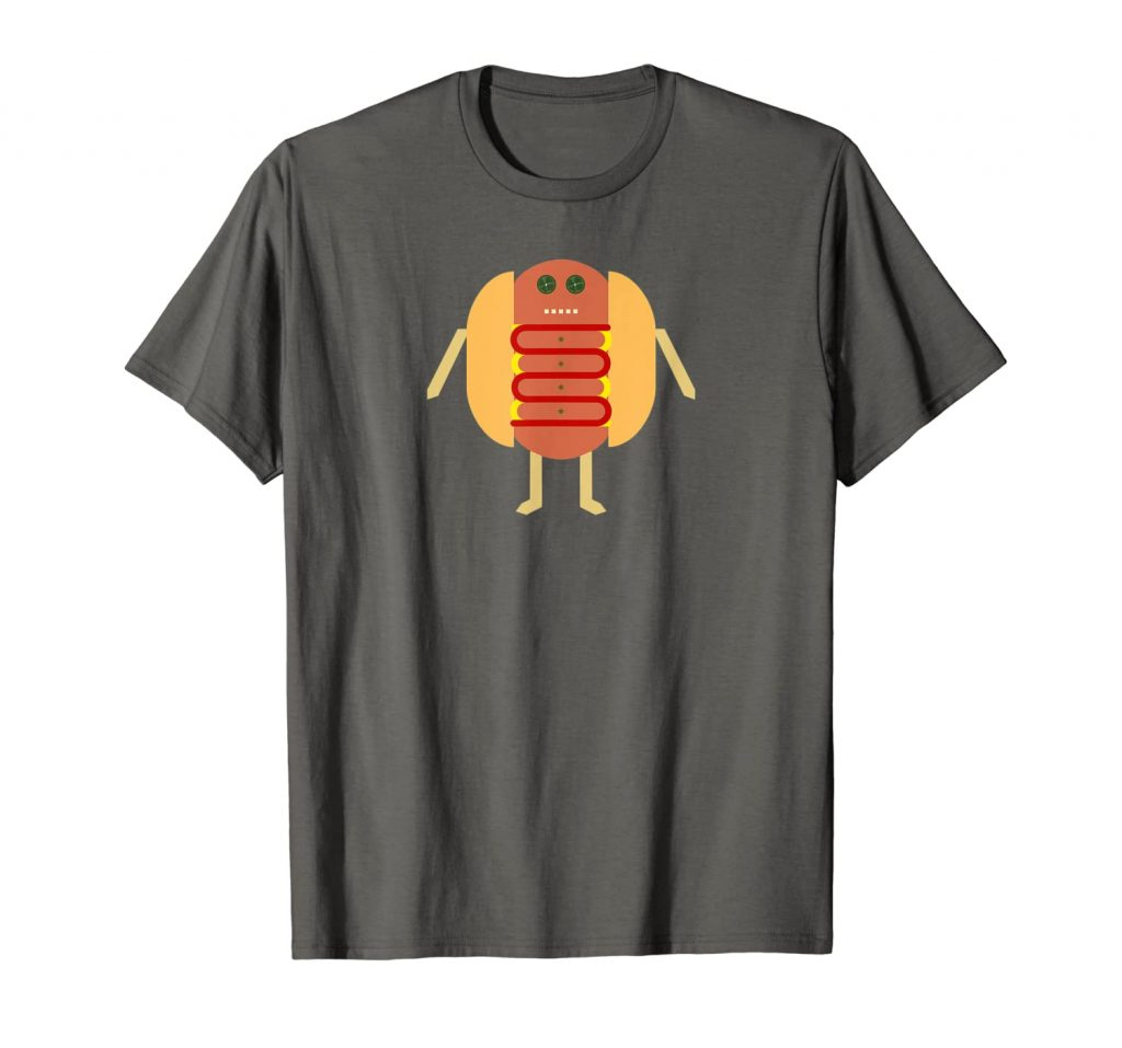 Stubby Lil Weenie asphalt t-shirt for Merch by Amazon by someartworker