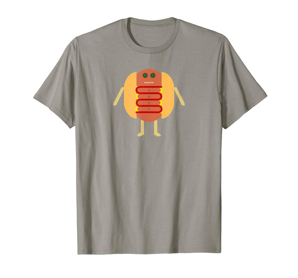 Stubby Lil Weenie slate t-shirt for Merch by Amazon by someartworker