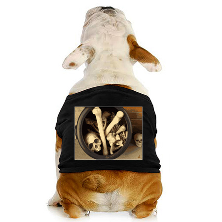 Caldron of bones dog t-shirt on NeatoShop by someartworker