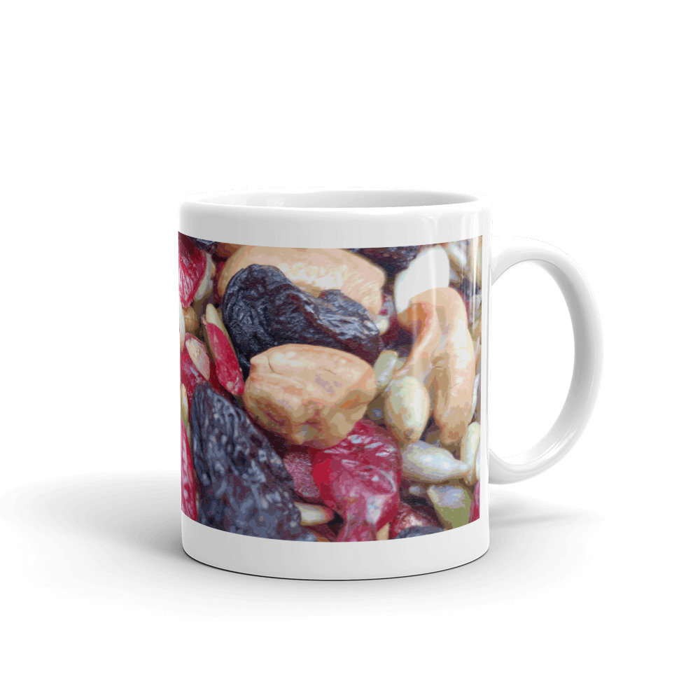 Farmers Market Trail Mix Mug by someartworker on Etsy