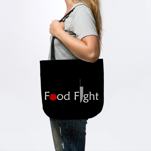 Food Fight Tote by someartworker on Teepublic